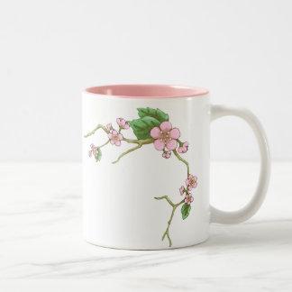 Flores de Sakura Taza De Café