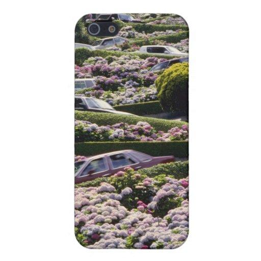 Flores de San Francisco rojo, California iPhone 5 Fundas