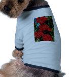 Flores de Siberia, Rusia Camisas De Mascota