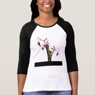 Flores de Sundew de la lavanda Camisetas