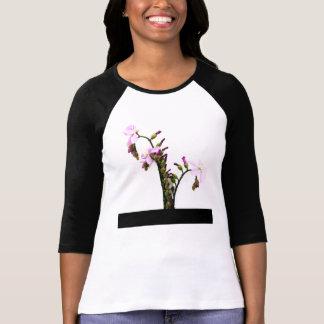 Flores de Sundew de la lavanda Poleras