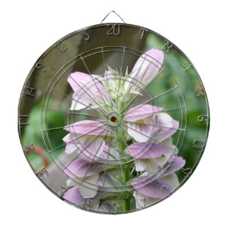 Flores de Turtlehead Tabla Dardos