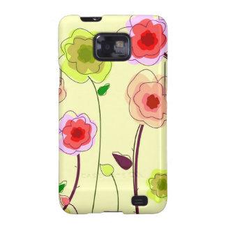 Flores de Whimiscal Carcasa Para Samsung Galaxy S2