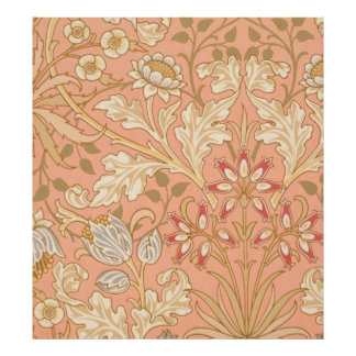 Flores decorativas del rosa en colores pastel posters