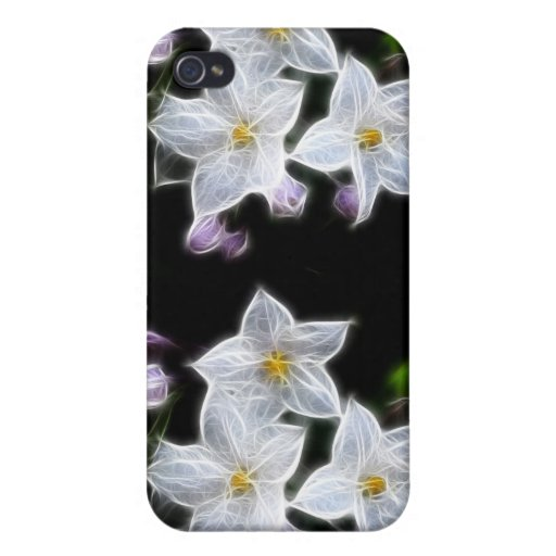 Flores del abucheo iPhone 4 protector
