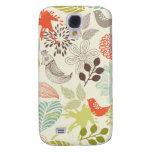 flores del anf de los pájaros del vector del doodl
