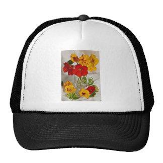 Flores del arreglo floral gorro