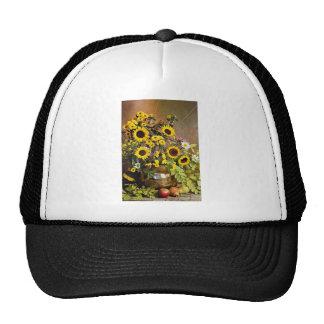 Flores del arreglo floral gorra