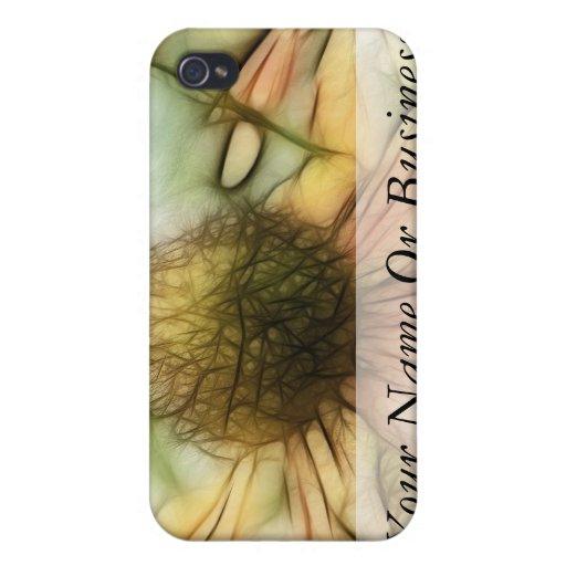 Flores del autumnale del Helenium iPhone 4 Funda