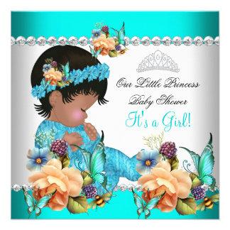 Flores del azul del trullo del chica de la princes