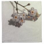 Flores del azul del vintage servilleta