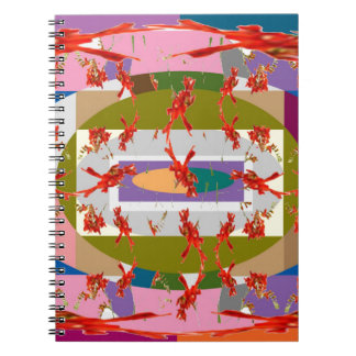 Flores del baile - Dance Floor Spiral Notebooks