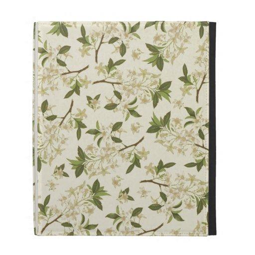 Flores del blanco del vintage