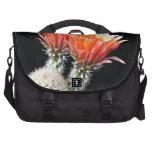 Flores del cactus bolsas para ordenador