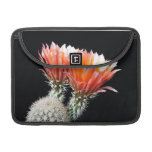Flores del cactus fundas para macbook pro