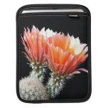 Flores del cactus mangas de iPad