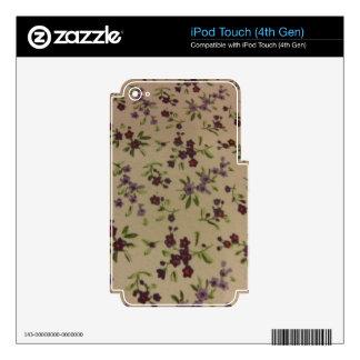 Flores del calicó de la pradera skins para iPod touch 4G