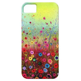 Flores del campo iPhone 5 fundas