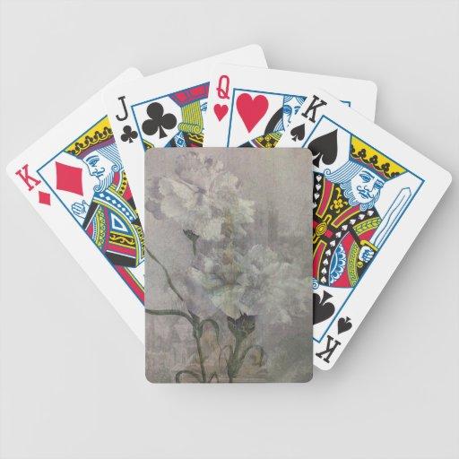 Flores del castillo baraja cartas de poker