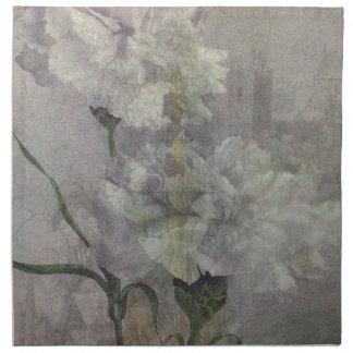 Flores del castillo servilletas