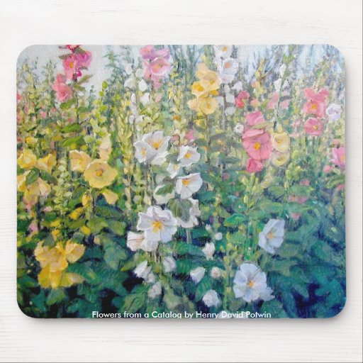 Flores del catálogo alfombrilla de ratones