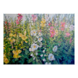 Flores del catálogo poster