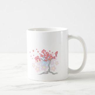 Flores del cerezo tazas de café