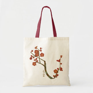 Flores del ciruelo, vintage fino de Ogata Kōrin Bolsa Tela Barata