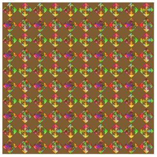 Flores del color del arco iris. Modelo en Brown Fotoescultura Vertical
