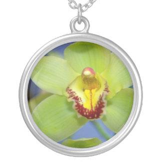 Flores del Cymbidium de la cal Colgante Personalizado