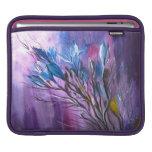 Flores del día lluvioso funda para iPads