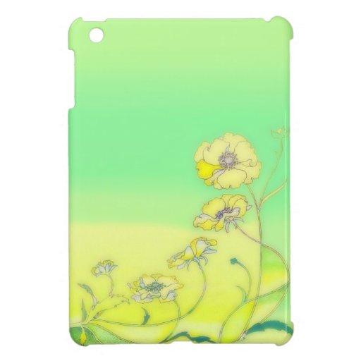 Flores del día soleado iPad mini fundas