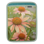 Flores del Echinacea del melocotón Funda Para iPads