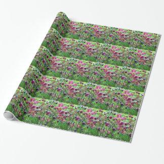 Flores del Epimedium Papel De Regalo