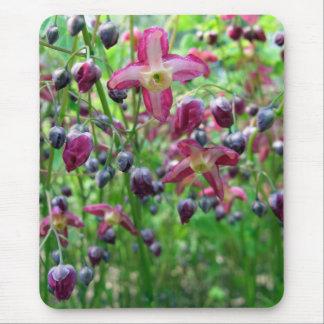 Flores del Epimedium Tapetes De Ratón