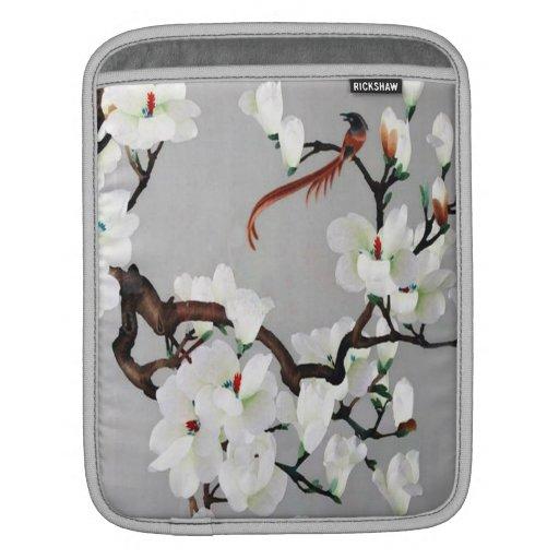 Flores del faisán y de la pera funda para iPads