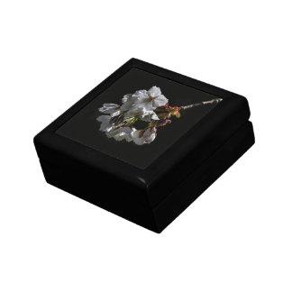 Flores del flor cajas de joyas