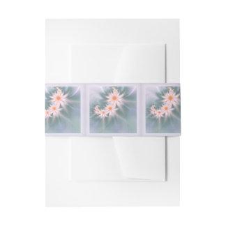 Flores del fractal de la margarita cintas para invitaciones