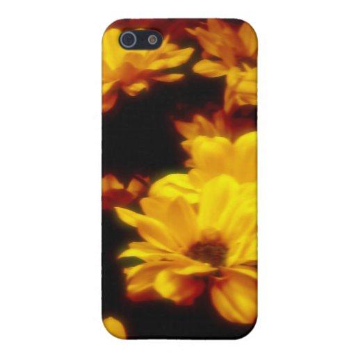Flores del fuego iPhone 5 carcasas