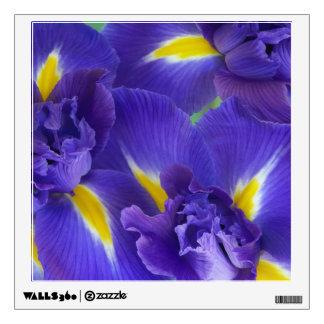 Flores del iris vinilo adhesivo