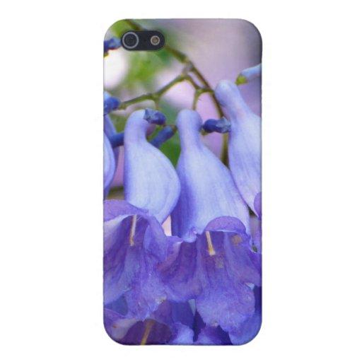 Flores del Jacaranda iPhone 5 Protectores