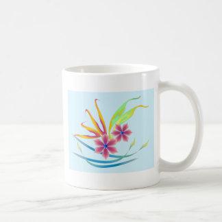 Flores del jardín de la primavera taza de café