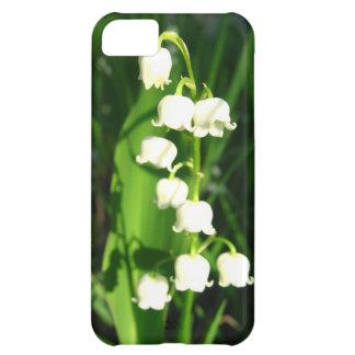 Flores del lirio de los valles carcasa para iPhone 5C