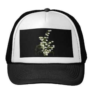 Flores del lirio de los valles gorra