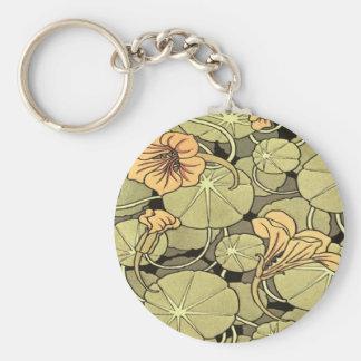 Flores del lirio llavero personalizado