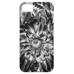Flores del metal iPhone 5 protector