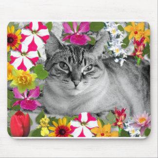 flores del missy tapete de raton