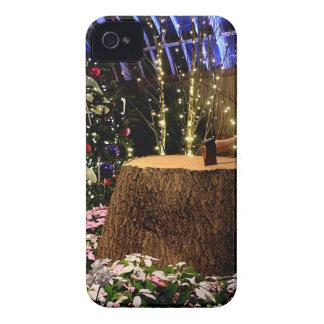 Flores del navidad funda para iPhone 4