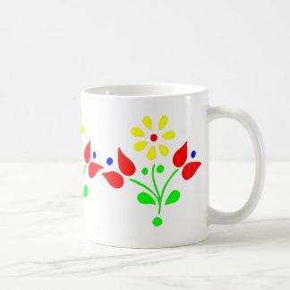Flores del neón del OPUS Tazas