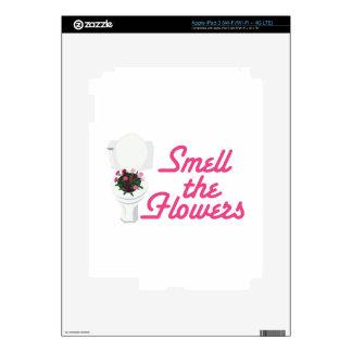 Flores del olor iPad 3 skin